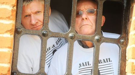 Jail and Bail event in aid of Home-Start Suffolk Coastal. Local personalities will be 'locked up' in