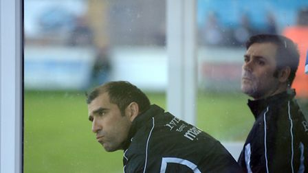 Bury Town entertain Wingate and Finchley at Ram Meadow Pensive manager Ben Chenery