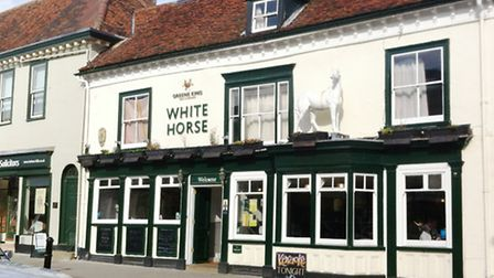 The White Horse pub in Sudbury is selling Zebra, Camel and Bison at its special steak night