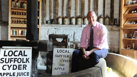 Barry Chevalier Guild of Aspall Cyder
