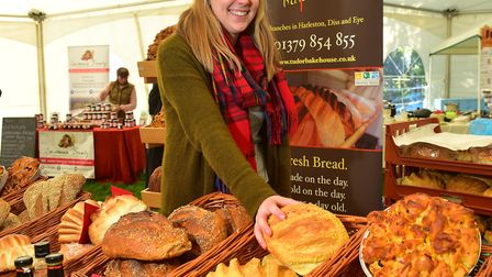 Alice Hirons from The Tudor Bakehouse. Picture: Nick Butcher