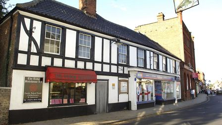 Picture of The Tudor Bakehouse in Harleston Town centre. Photo: Angela SharpeCopy: For: EDP Norfolk