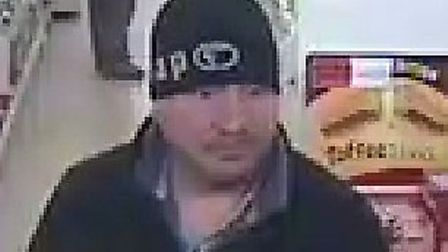CCTV of man wanted for questioning in connection with theft from store in Eye