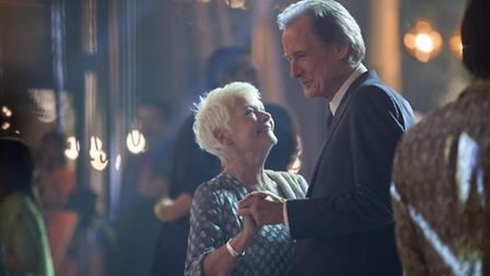 The Second Best Exotic Marigold Hotel - Judi Dench as Evelyn Greenslade and Bill Nighy as Douglas Ai