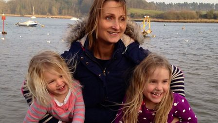 Fiona Mortimer-Wood and her children