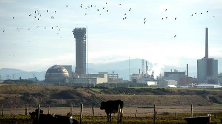 Sellafield Nuclear plant in Seascale, Cumbria, as the cost of decommissioning and cleaning up the nu