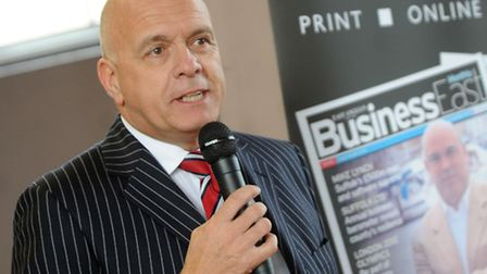 Terry Baxter, chairman of Ipswich Central.