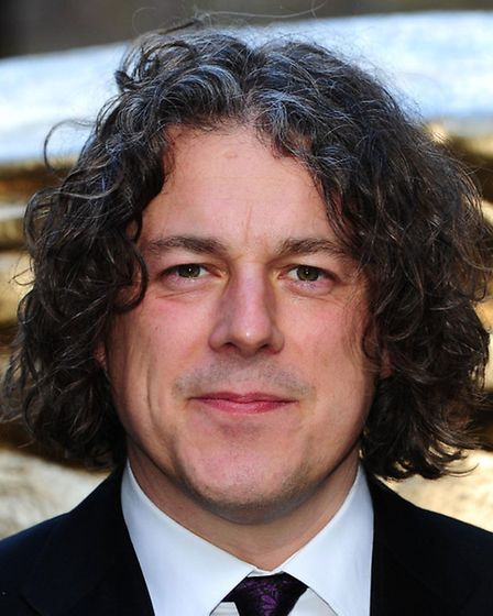 Alan Davies is one of the comedy headliners.