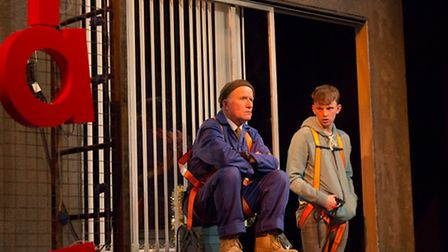 Robert Gill (Frank), Thomas Pickles (Alan) in Sign of the Times