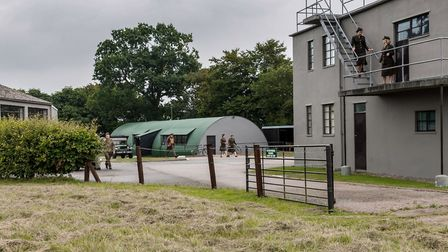 Scenes from Magpie were shot at Thorpe Abbotts Airbase 100th Bomb Museum in South Norfolk. Picture:
