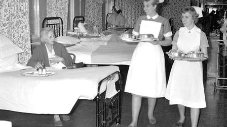 Heather Gosling has recalled the rather basic wards at Heath Road Hospital in the 1960s. This photog