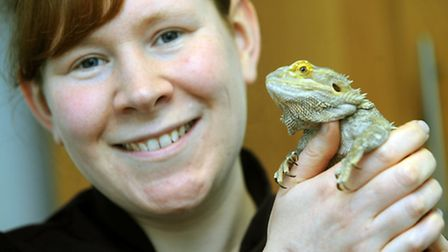 Vet Catherine Thomas, who runs an exotic animal clinic service, has launched a photographic competit