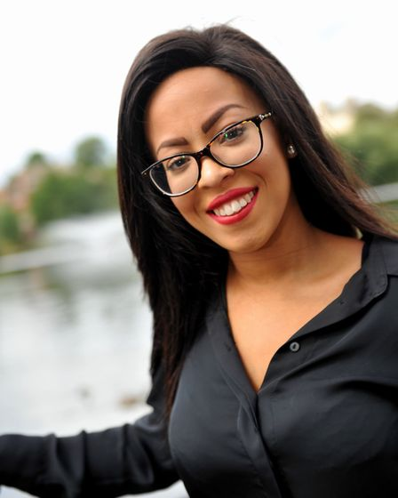 Chana Bush regional finalist in Specsavers' search for its Spectacle Wearer of the Year by Diss Mere