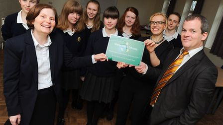 The Bury St Edmunds County Upper School is one of only eight organisations in the country to have be