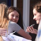 Students collected their GCSE results amid a new grading system for 2018. Picture: Denise Bradley