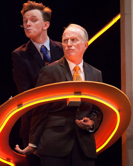 Thomas Pickles (Alan), Robert Gill (Frank) in Sign of the Times a play which should appeal to teenag