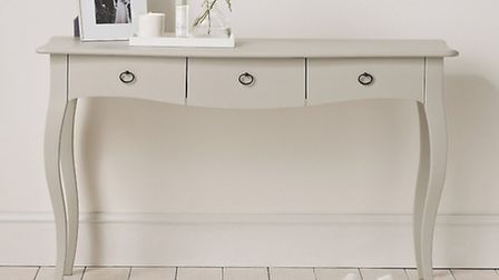 White dressing table - The White Company