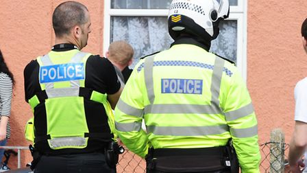 Police officers will not be affected by the pay cuts, but civilian workers will