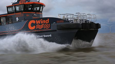 The CWind Sword offshore support vessel.