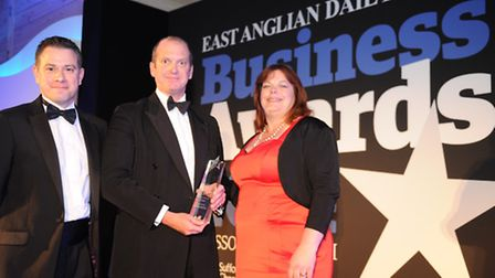 Suffolk cider and vinegar maker Aspall was named Business of the Year at last year's EADT Business A