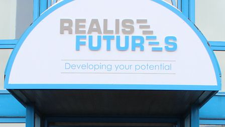 The headquarters of Realise Futures in Ipswich.