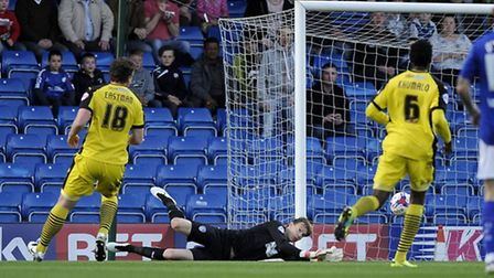 Chris Lewington, in action at Chesterfield. He could make his U's home debut today