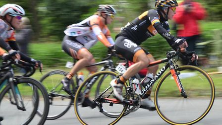 Stage 5 of the Womens Tour passes through Onehouse on their way to Bury St Edmunds last year