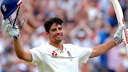 England highest test run-scorer Alastair Cook is coming to Brome Grange Hotel near Diss. Picture: PA
