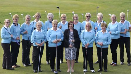 Brett Vale Golf Club's ladies' section has raised �1,070 for Macmillan with charity games.