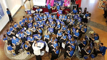 South Norfolk Youth Symphonic Band are playing a concert at Bressingham Church. Picture: SNYSB