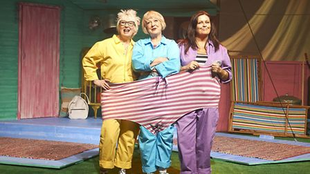 Susie Blake, Jenny Eclair and Kate Robbins in Grumpy Old Women Fifty Shades of Beige