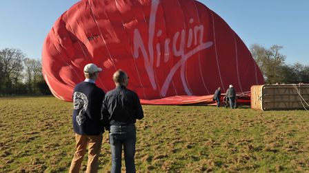 EADT and Ipswich Star photographer Sarah Lucy Brown got the opportunity to fly with Virgin on one of
