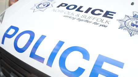 Police called to crash outside school.
