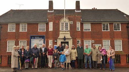 Neighbours objected to the proposed demolition of Woodbridge police station for housing.