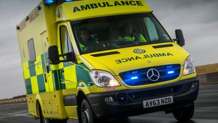 A man was taken to hospital following a collision on the Thetford to Diss road. Picture: East of Eng