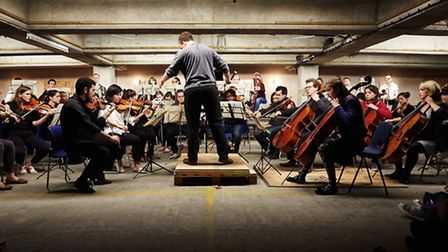 The Multi-Storey Orchestra which will be bringing the Aldeburgh Festival to Ipswich this year.