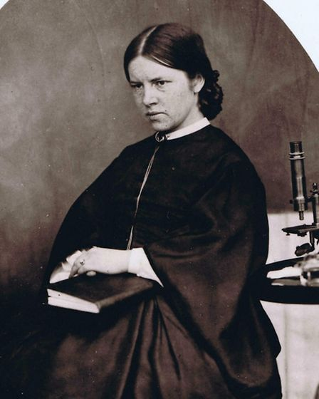 Suffolk's Elizabeth Garrett Anderson, who overcame the odds, and much opposition from the establishm