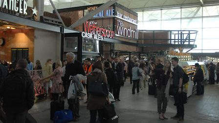 Stansted Airport phase two launch. Picture: Hywel Barrett