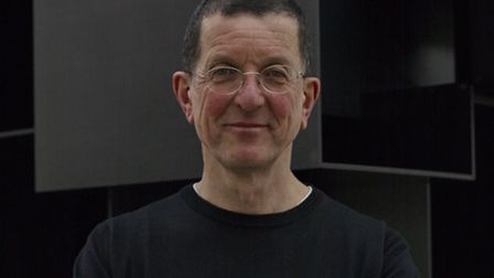 Sir Antony Gormley, whose statue as part of the Land installation has been put in place at the Marte