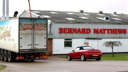The Bernard Matthews processing plant at Great Witchingham.