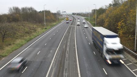 The incident happened on the A12