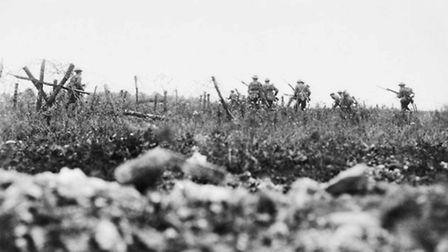 Dr Greenacre who will be giving a First World War talk in Diss is also an active battlefield and his