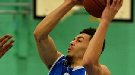 Luke Mascall-Wright in action for Ipswich