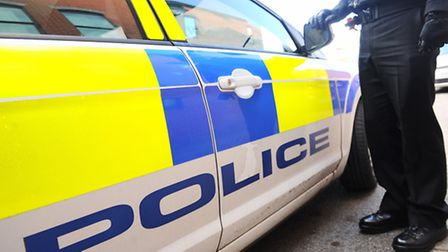 Police and paramedics were called to a collision in Hadleigh Road, Ipswich
