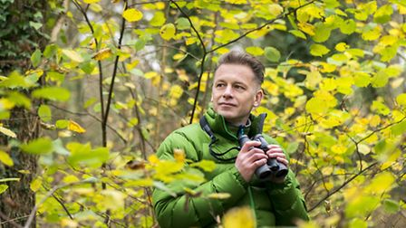 Chris Packham, who is to give the key address at Suffolks environmental awards ceremony at Snape Ma