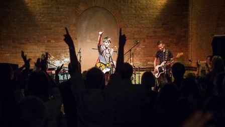 Yngve and The Innocents at the Pumphouse