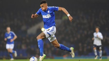 Ipswich Town defender Tyrone Mings. Photo: Sarah Lucy Brown