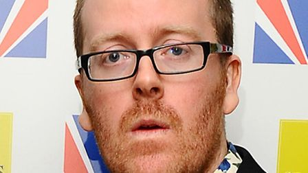 Frankie Boyle is appearing at this year's V Festival.