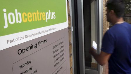 Total unemployment in the UK has reached a near seven year low, official figures showed today. Phot