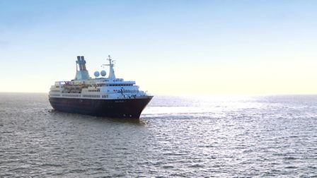The Saga Pearl II will be visiting Southwold in summer 2016